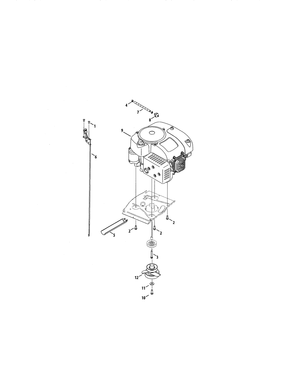 medium resolution of craftsman 247290001 engine diagram