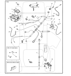 husky mower wiring harness kit [ 2550 x 3300 Pixel ]
