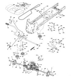 husqvarna lgt2654 96043018300 drive diagram [ 2550 x 3300 Pixel ]