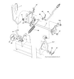 husqvarna model yth22v46 96043018101 lawn tractor genuine parts rh searspartsdirect com husqvarna riding mower wiring diagram [ 2550 x 3300 Pixel ]