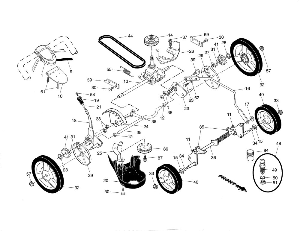 medium resolution of husqvarna lawn tractor parts diagram complete wiring diagrams