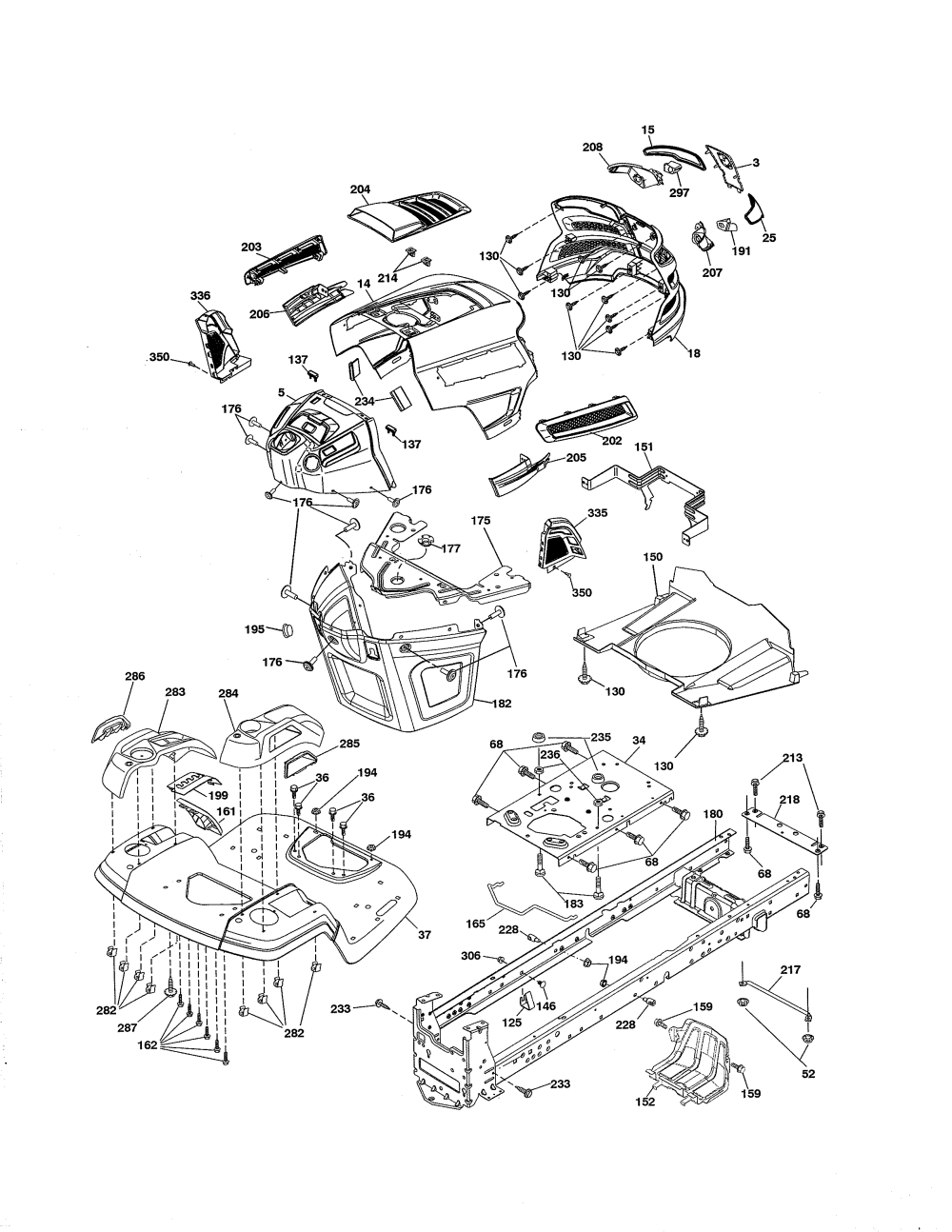 medium resolution of husqvarna lawn tractor carburetor diagram