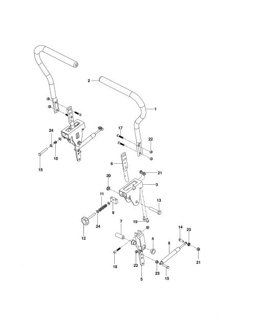 small resolution of husqvarna rz5424 966659301 steering diagram