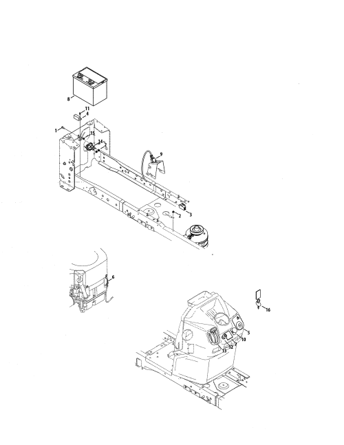 small resolution of craftsman 247204380 battery dash harness diagram