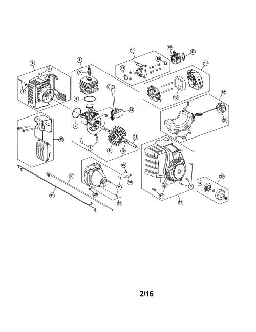 small resolution of craftsman 316711023 fuel tank short block diagram