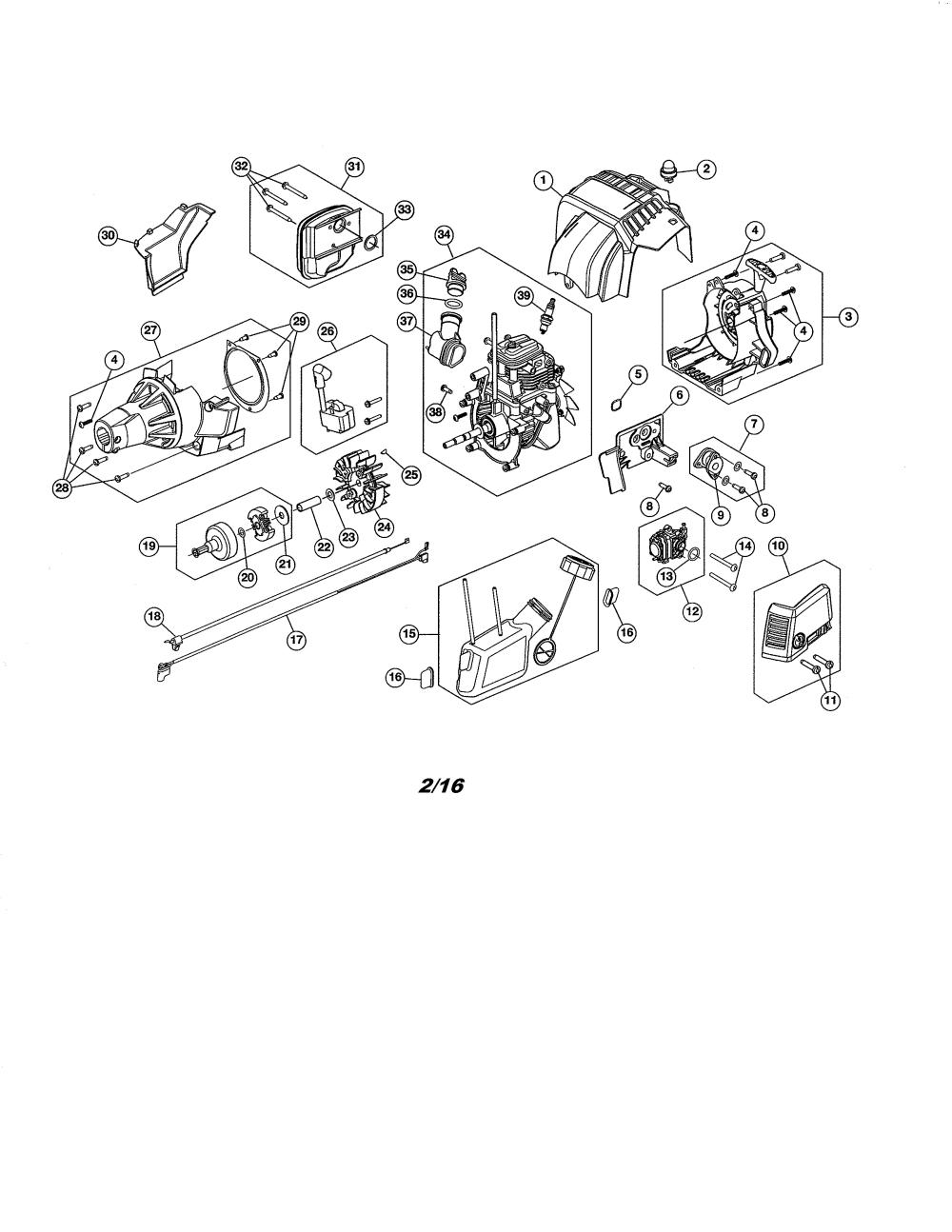 medium resolution of craftsman 316731973 fuel tank short block diagram