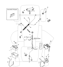 looking for poulan model pp175g42 96046007600 front engine lawn wiring diagram for poulan lawn tractor as well as line fuel filter for [ 2550 x 3300 Pixel ]