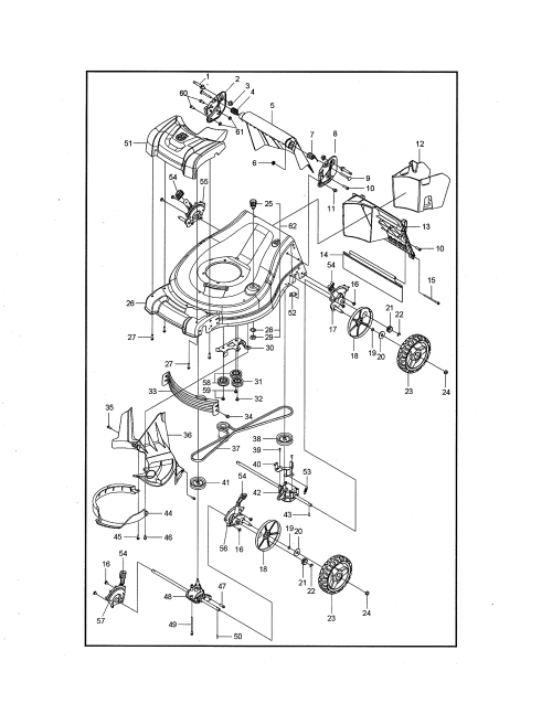 small resolution of engine husqvarna lc221a 96145003500 mower deck cutting deck diagram