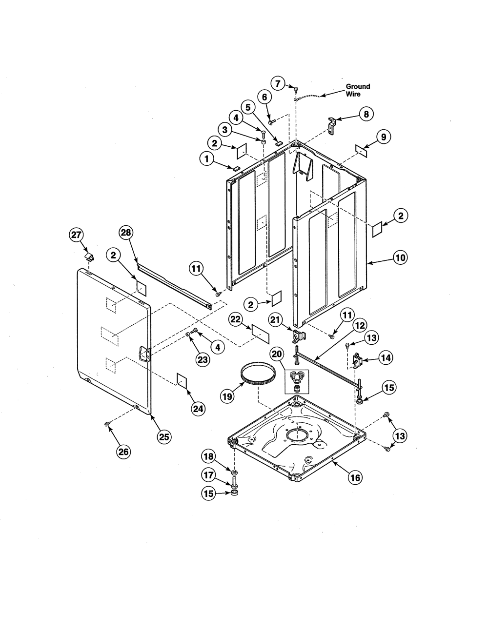 medium resolution of alliance awne82sp113tw01 front panel base cabinet kit diagram
