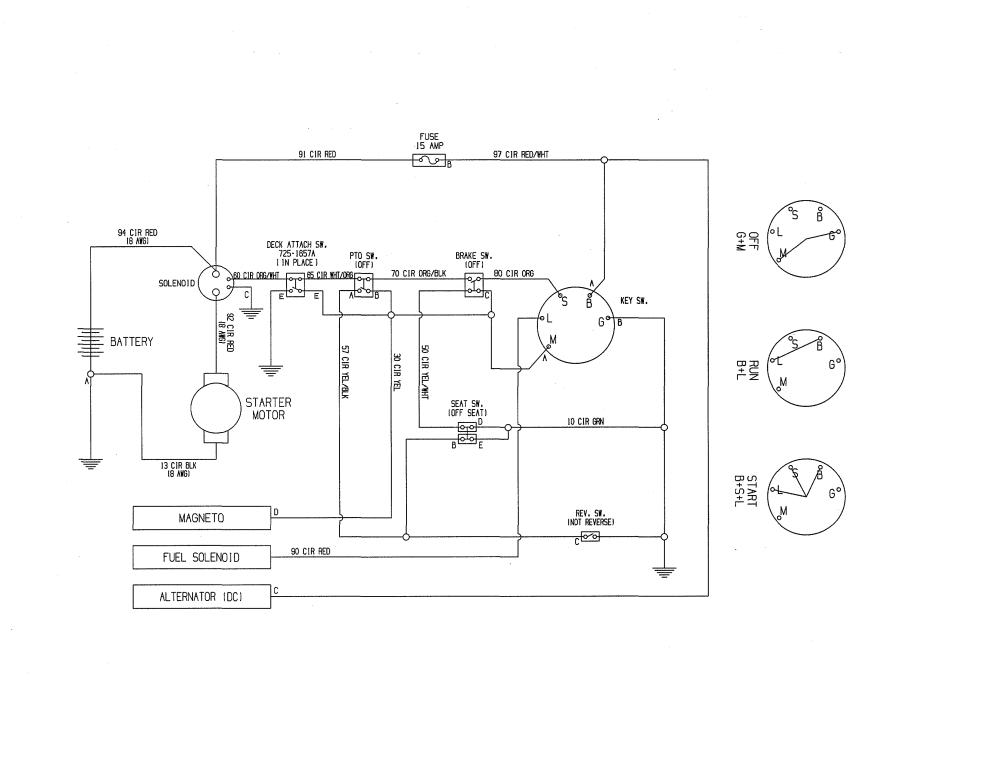 medium resolution of mtd 13a726jd099 wiring diagram diagram