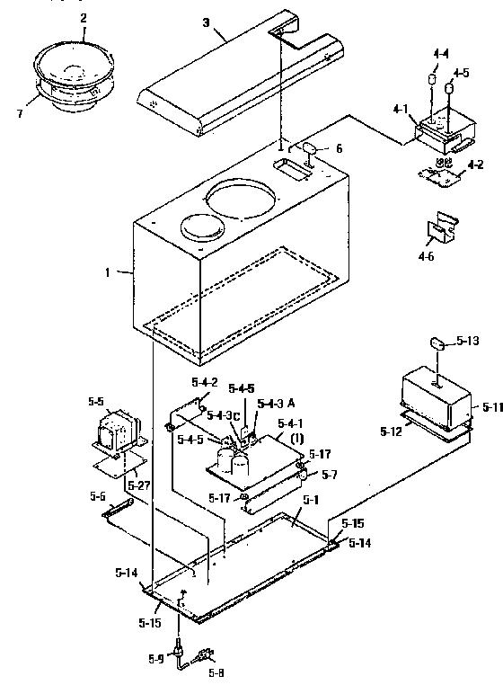 YAMAHA ACITVE SERVO PROCESSING SUBWOOFER SYSTEM Parts