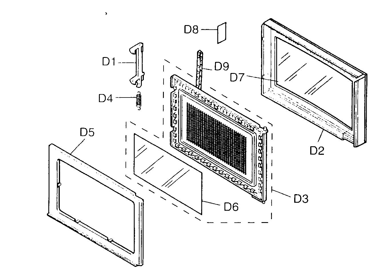 Microwave: Panasonic Microwave Parts