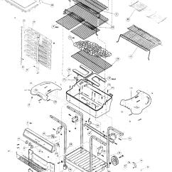 Toro Gas Trimmer Parts Diagram Caravan Trailer Wiring Fiesta Grill | Model Bh40045ver1 Sears Partsdirect
