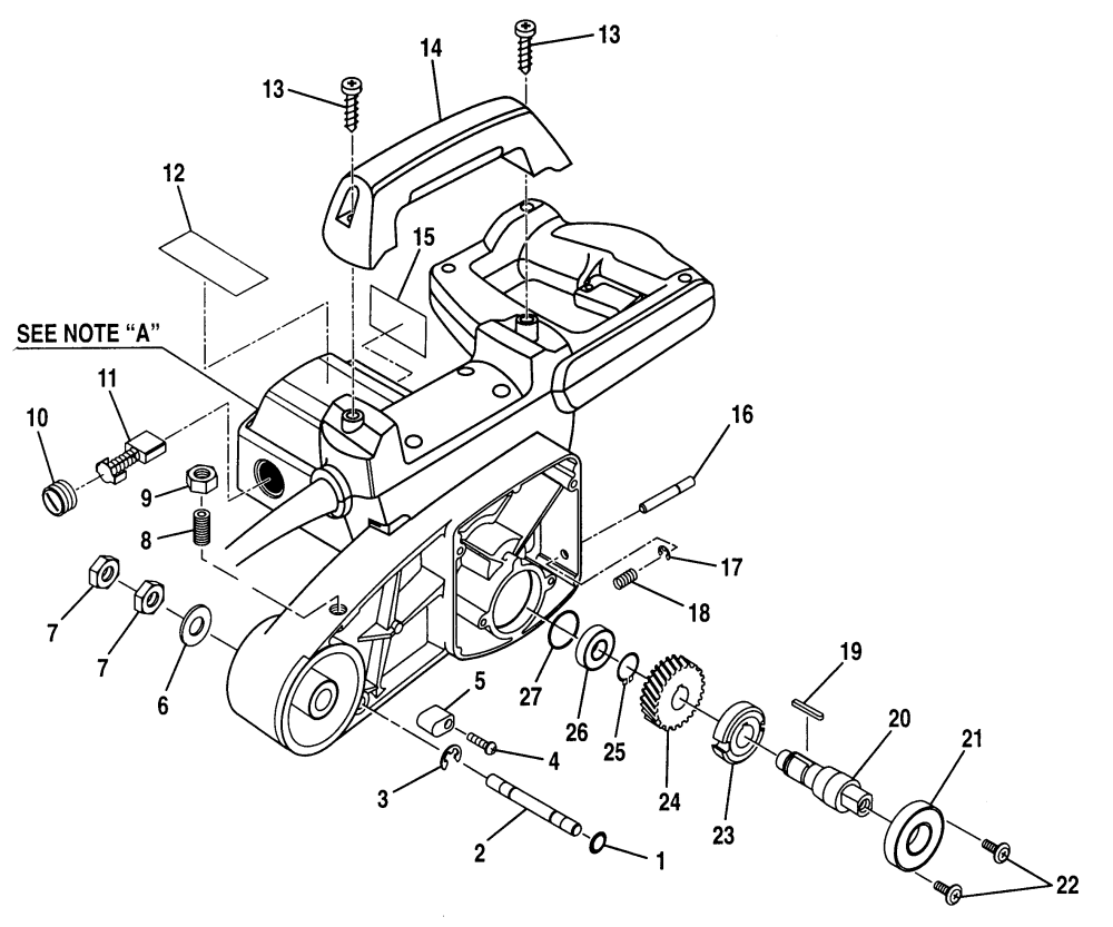 medium resolution of craftsman 315243150 miter saw diagram