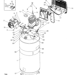Craftsman Air Compressor Wiring Diagram Vw Golf For 220v  The