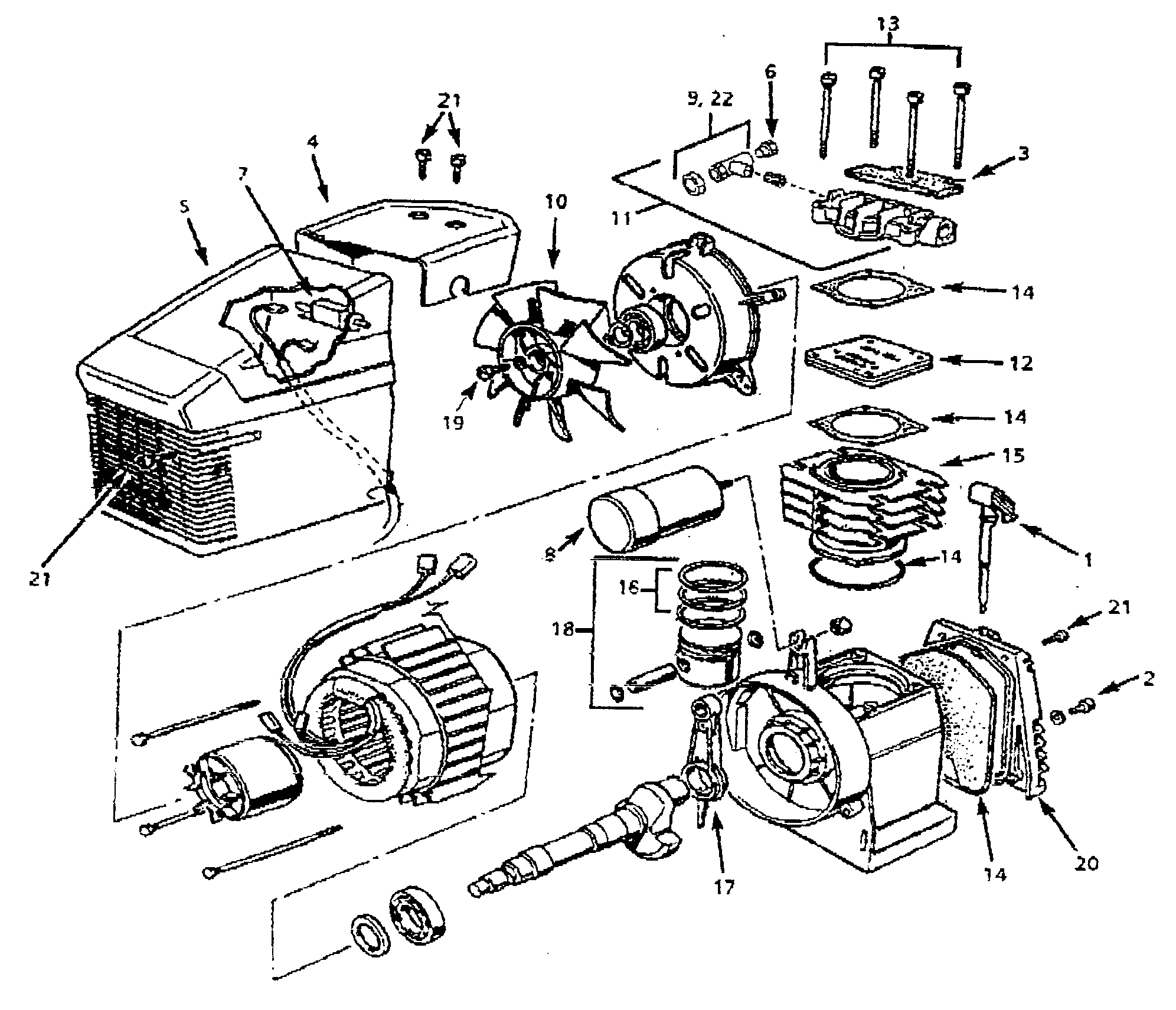 Mini Air Compressor Parts Diagram • Wiring Diagram For Free