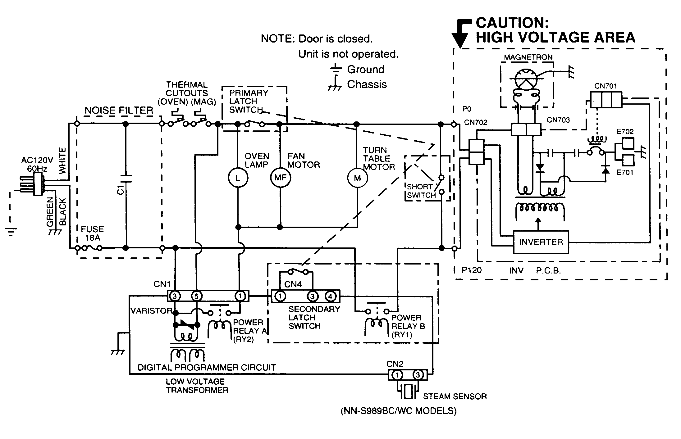 microwave over the range parts diagram wiring diagram