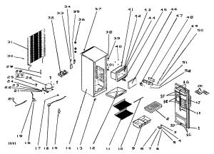 HAIER REFRIGERATOR Parts   Model bc297   Sears PartsDirect