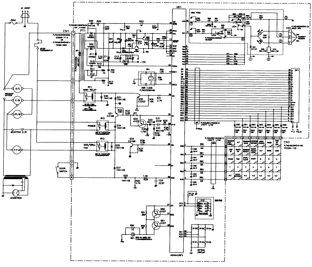 medium resolution of kenmore microwave wiring diagram guide and troubleshooting of sharp microwave wiring diagram kenmore microwave wiring diagram