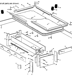 table parts diagram wiring diagram origin bridgeport table parts diagram parts diagram table [ 2367 x 1797 Pixel ]