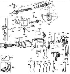 looking for dewalt model dw515kty2 hammer drill repair u0026 replacementdewalt dw515kty2 drill diagram [ 2420 x 2544 Pixel ]