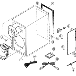 Parts Of A Speaker Diagram Att Uverse House Wiring Cabinet And List For Model Ystsw005