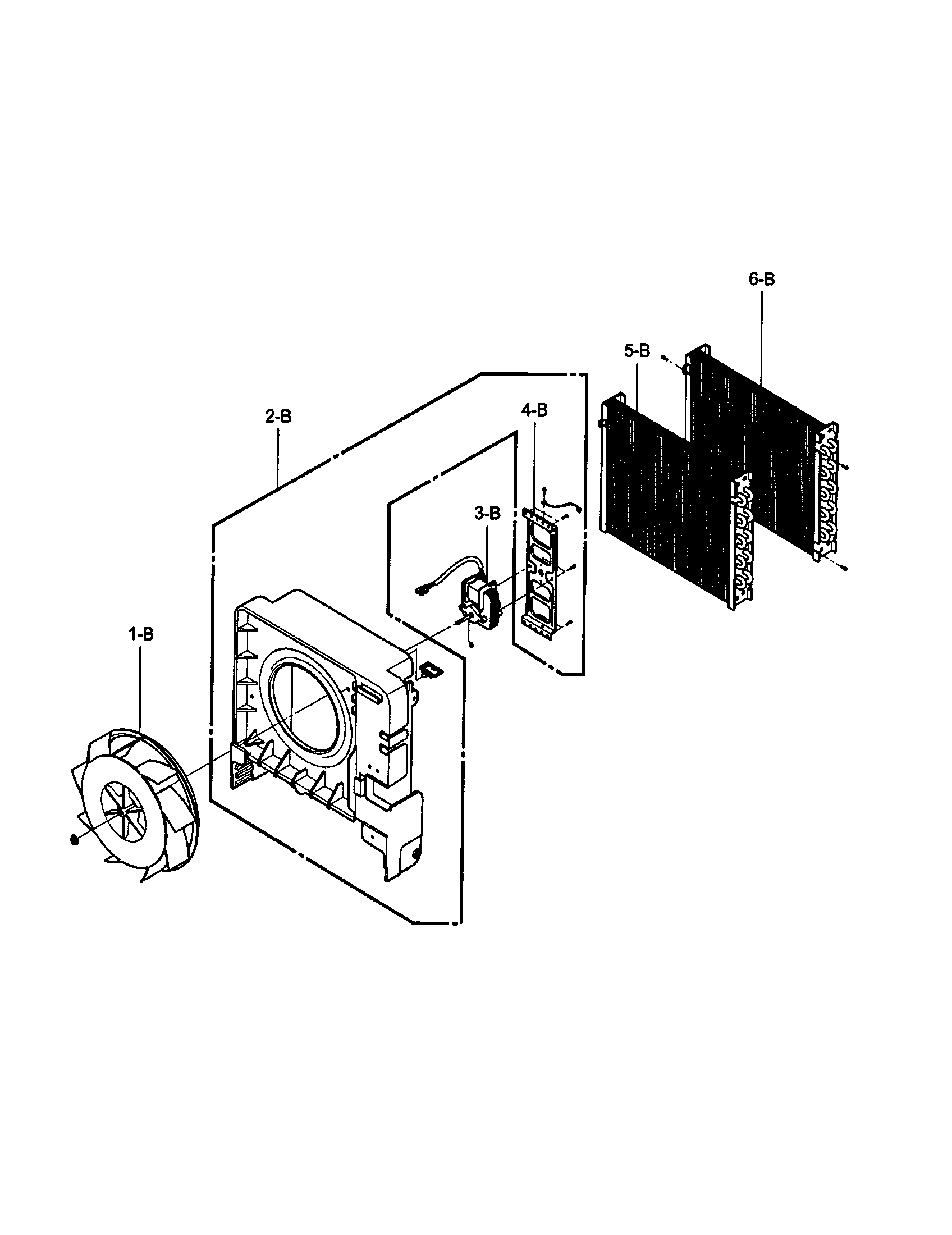 FAN Diagram & Parts List for Model 58052450200 Kenmore