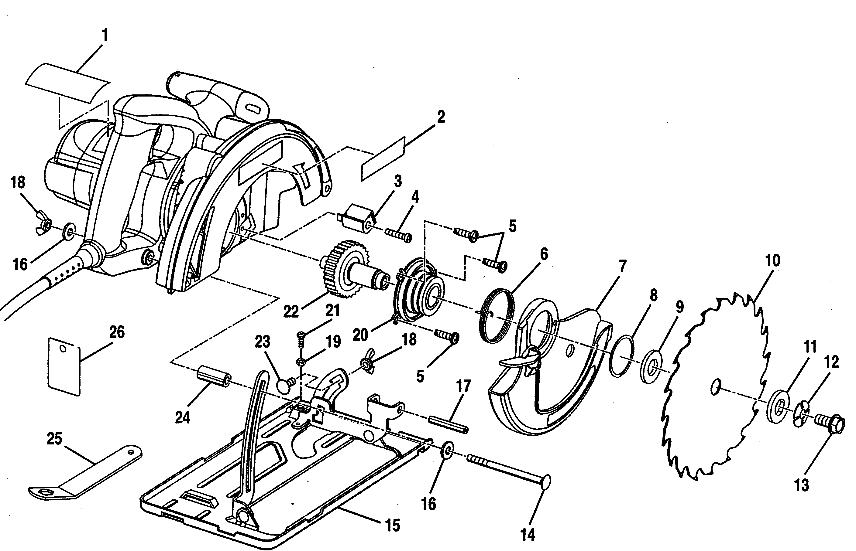Wiring Diagram For Craftsman Circular Saw