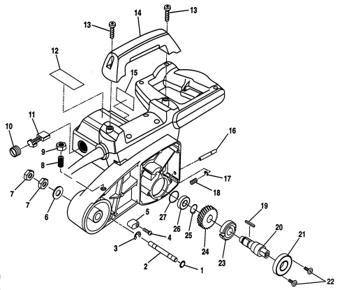 small resolution of craftsman 315212500 arm assy diagram