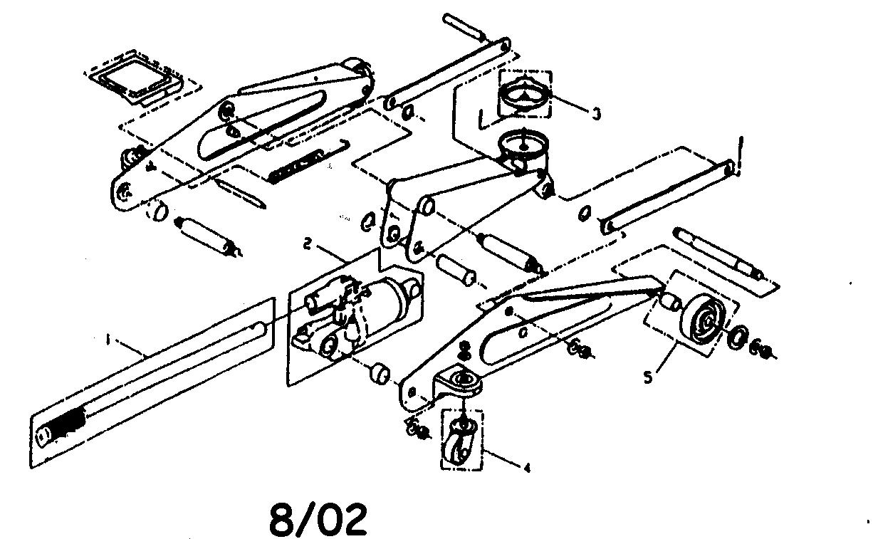 Floor: Floor Jack Parts
