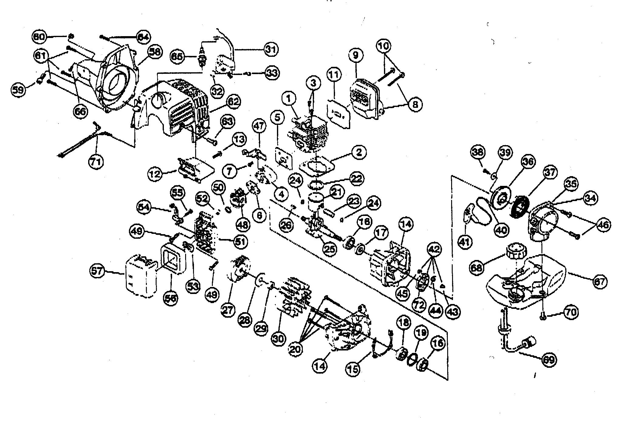 Ryobi Engine Diagram Schematic Diagrams P2006 Parts List And Ereplacementpartscom String Trimmer Waitting Co