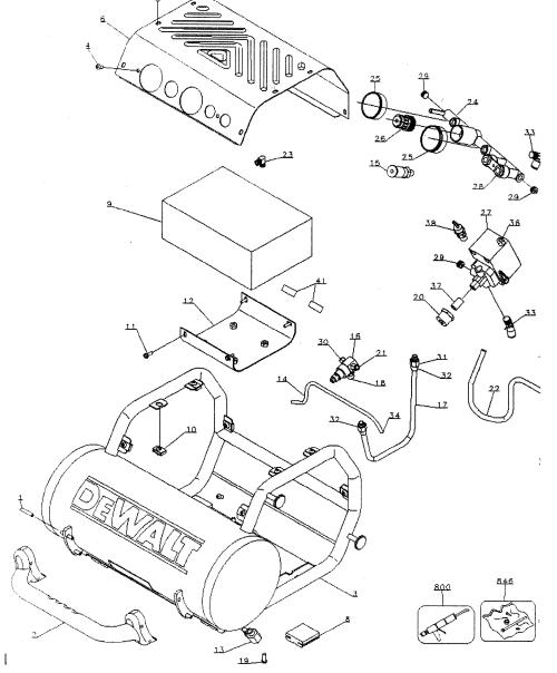 small resolution of dewalt d55155 compressor diagram