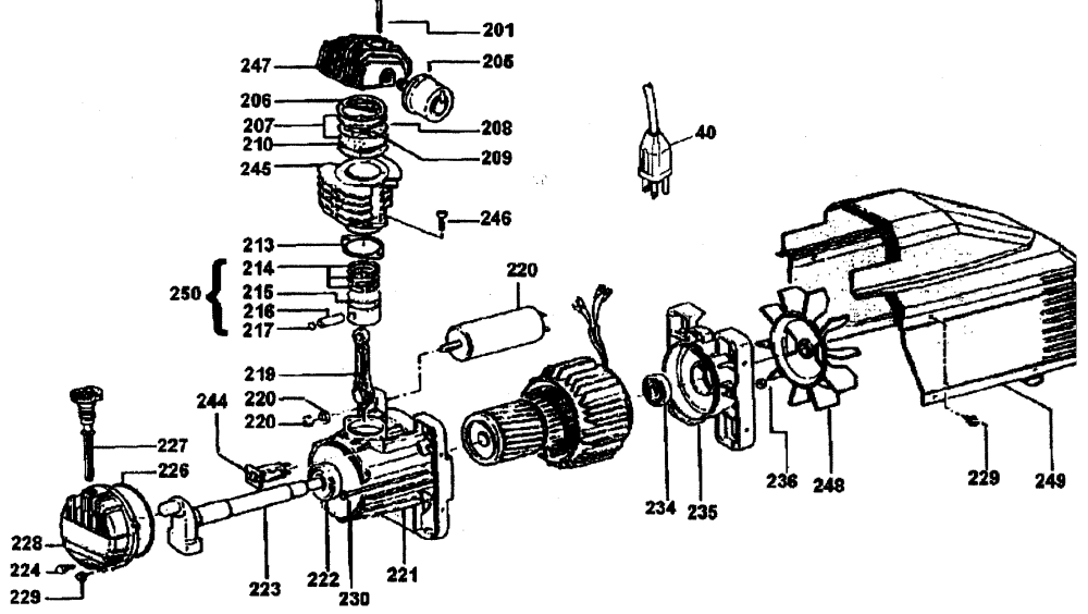 medium resolution of dewalt model d55155 air compressor genuine parts rh searspartsdirect com air compressor wiring diagram schematic air compressor starter wiring diagram