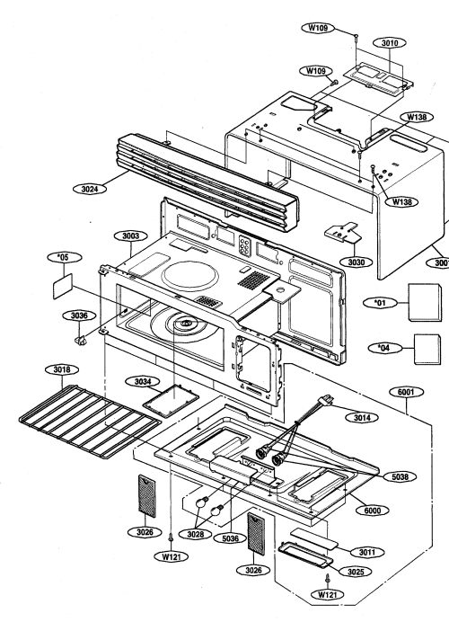 small resolution of looking for kenmore model 72162629200 microwave hood combo repairkenmore 72162629200 oven cavity diagram