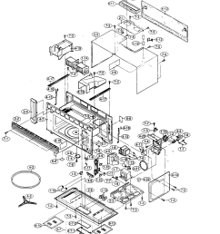wiring diagram further sharp carousel microwave oven circuit diagram oven cabinet parts diagram and parts list [ 2128 x 2570 Pixel ]