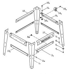 craftsman 137248880 stand diagram [ 1786 x 1758 Pixel ]