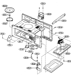 gold star microwave parts diagrams wiring [ 2178 x 2135 Pixel ]