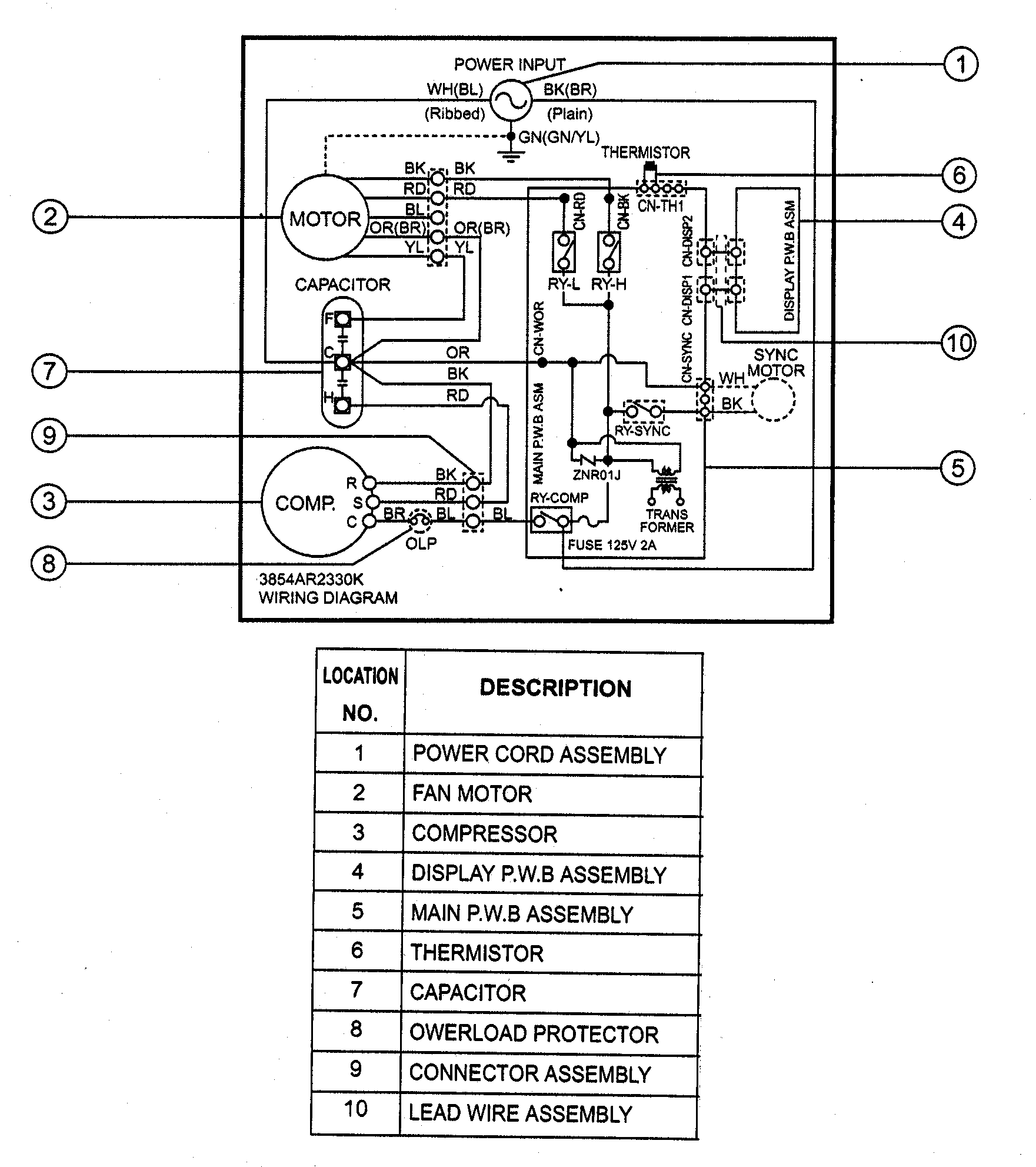Scully Thermistor Wiring Diagram Scully Electric Cable