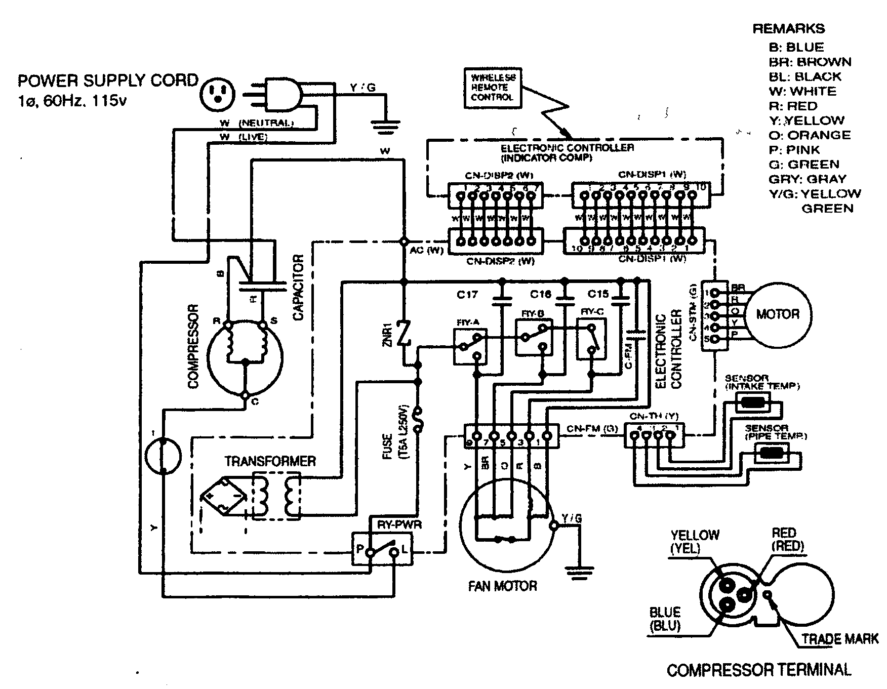 Wiring Diagram Ac Split Panasonic