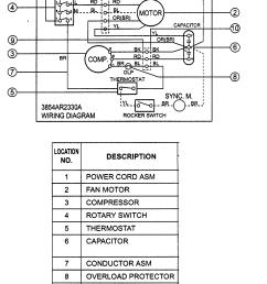 ac capacitor wiring diagram whirlpool [ 1387 x 2025 Pixel ]