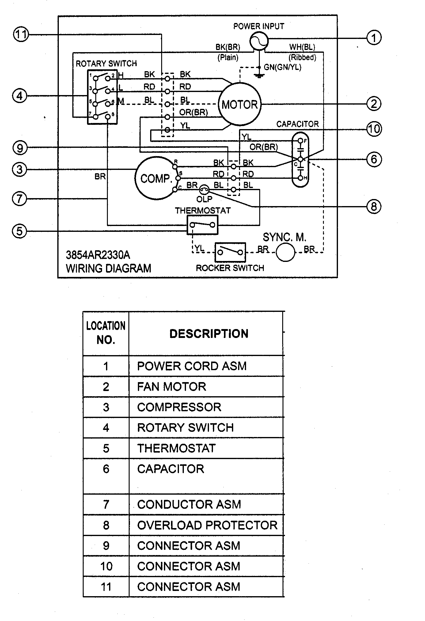 hight resolution of ac capacitor wiring diagram whirlpool