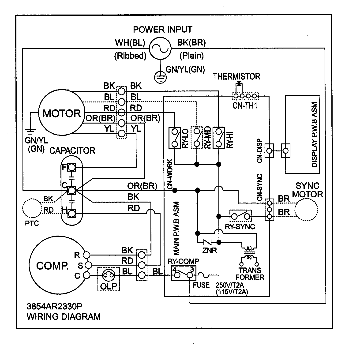 [DIAGRAM] Unit Diagram Wiring Ac Kg8000r FULL Version HD