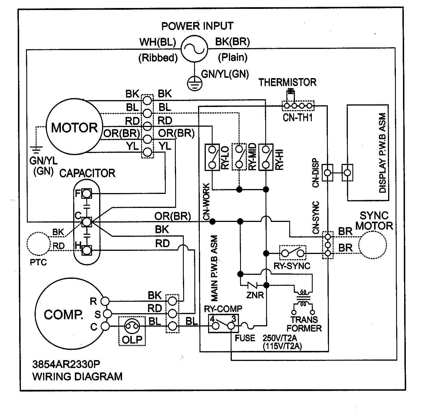 wiring diagram carrier central air conditioner 5 sphere fillable venn capacitor get free image