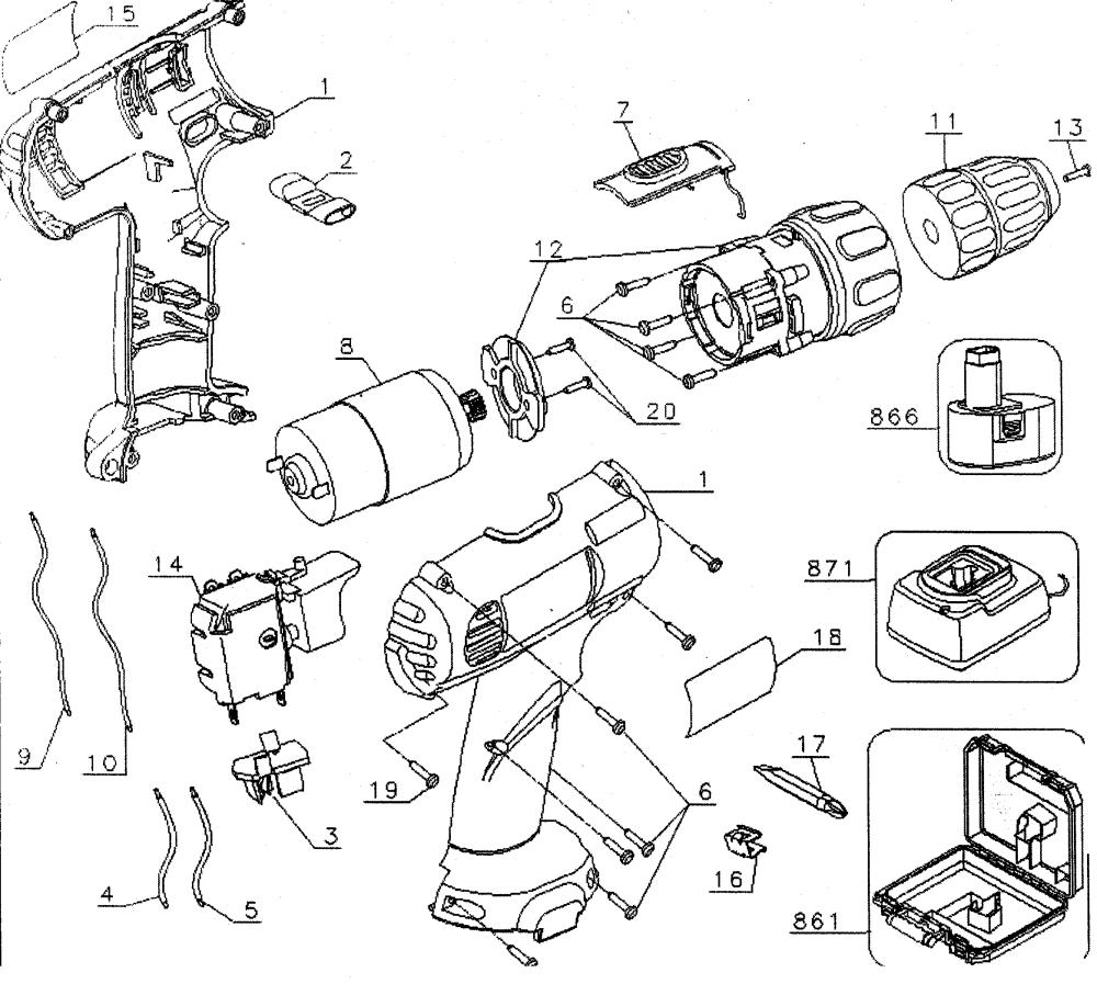 medium resolution of looking for dewalt model dw926k2 drill driver repair replacement dewalt 18v drill diagram dewalt drill diagram