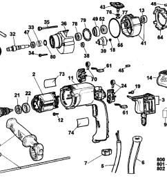 dewalt dw511 type 1 drill diagram [ 2330 x 1829 Pixel ]