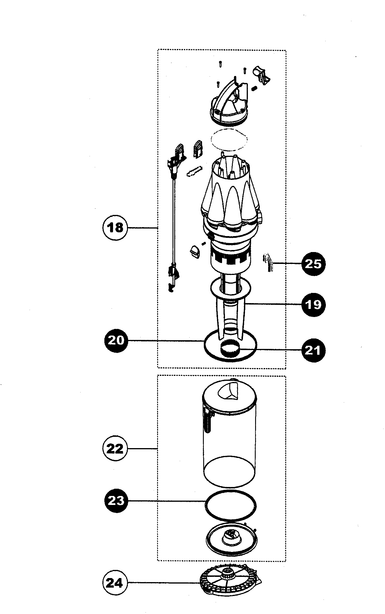 dyson dc17 animal parts diagram bennett trim tab wiring dc07 free engine image for