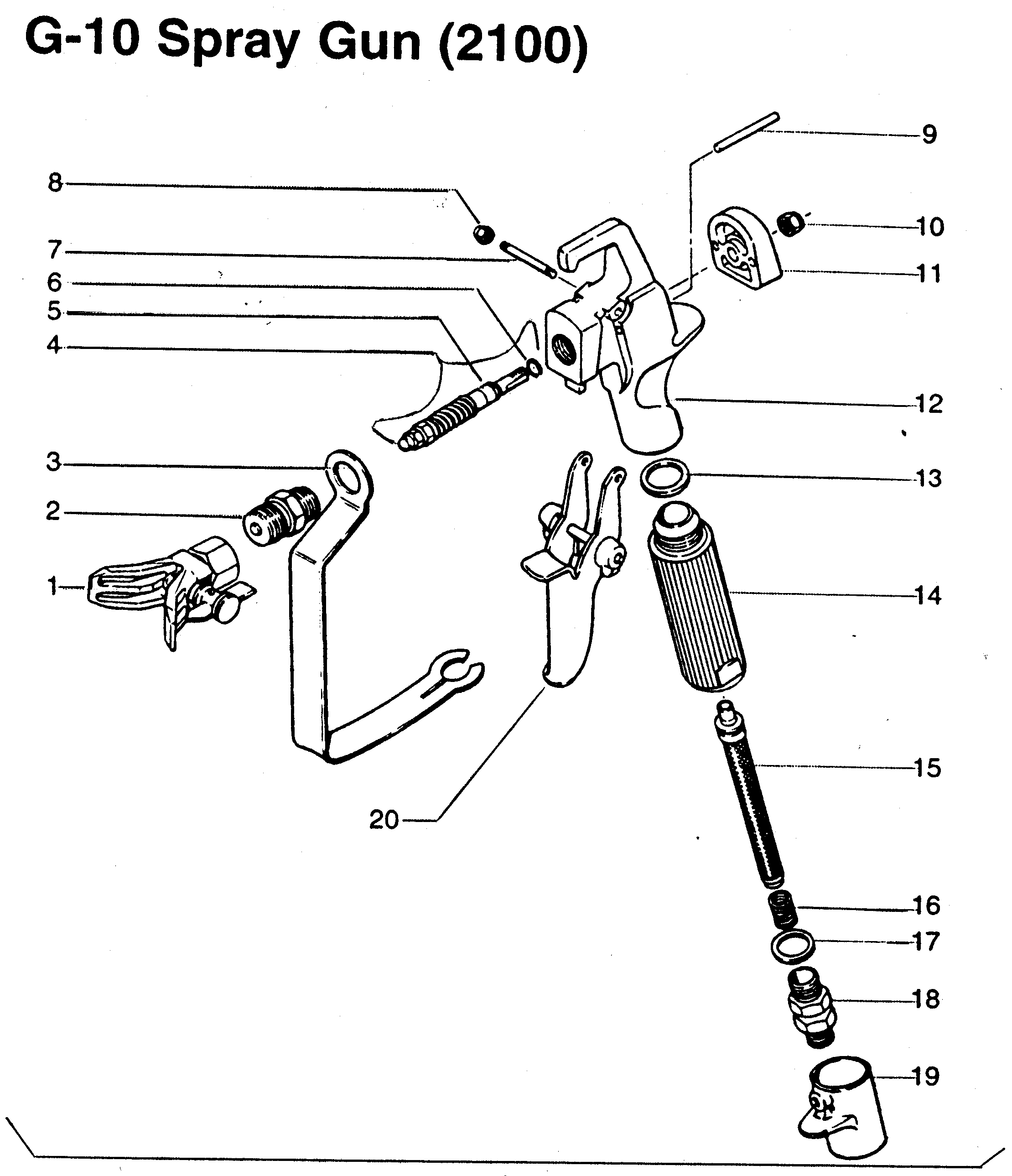 Wagner Paint Sprayer Parts Diagram, Wagner, Free Engine