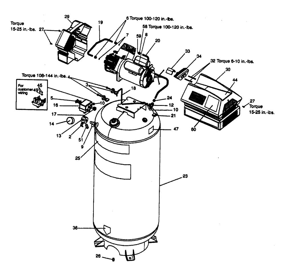 medium resolution of craftsman 919165612 compressor diagram
