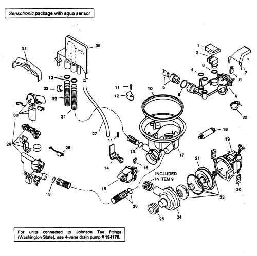 small resolution of bosch shx46a05uc 14 component assy diagram