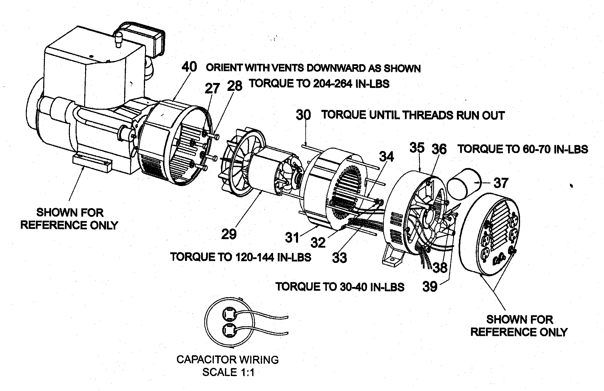 ENGINE ASSY Diagram & Parts List for Model gbfe60101